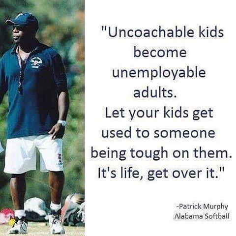 Coach de vie pour clientèle étudiante - Pensée de Patrick Murphy (Alabama Softball)