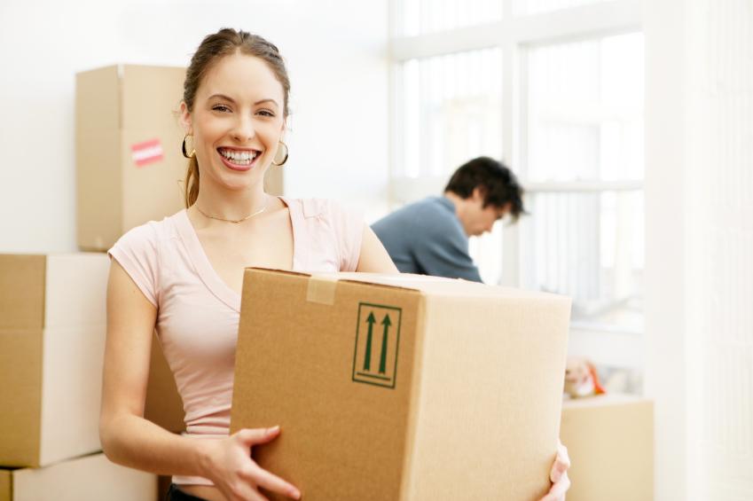 Déménagement d'un étudiant et d'une étudiante dans un appartement / logement à Sherbrooke