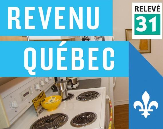 Relevé 31 Revenu Québec