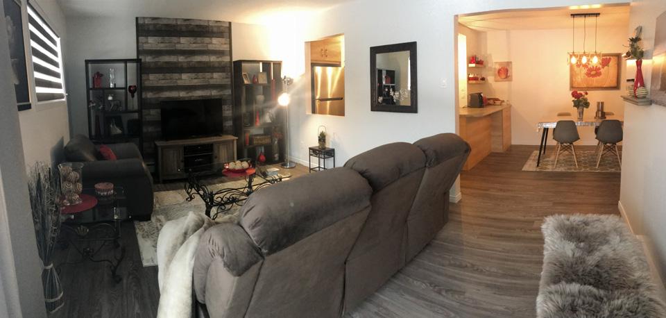 Appartement rénové à neuf à louer à Sherbrooke