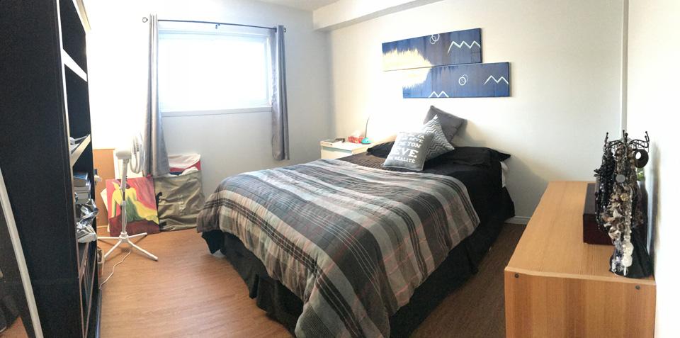 Appartement rénové entrée laveuse-sécheuse et lave-vaisselle