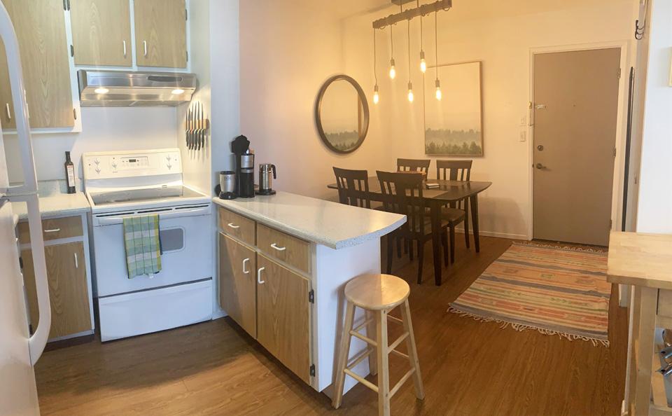 Appartement idéal pour colocation. Lumineux et superbe vue.